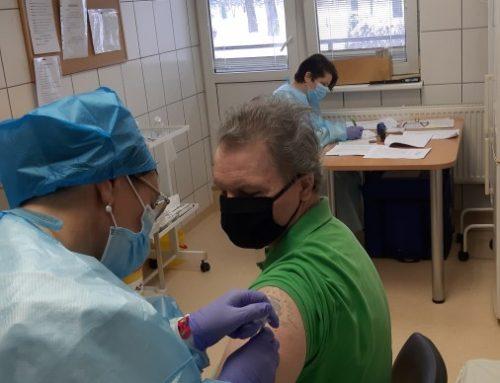 Skiepijimas nuo koronaviruso infekcijos pradėtas ir Padvarių socialinės globos namuose